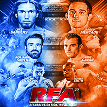 Ring of Fire: Resurrection Fighting Alliance 20