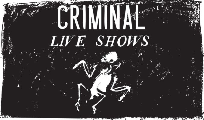 Criminal tickets at The Theatre at Ace Hotel, Los Angeles