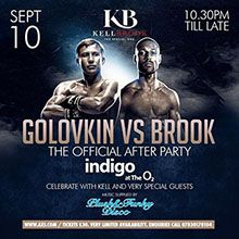 Official Kell Brook After Party