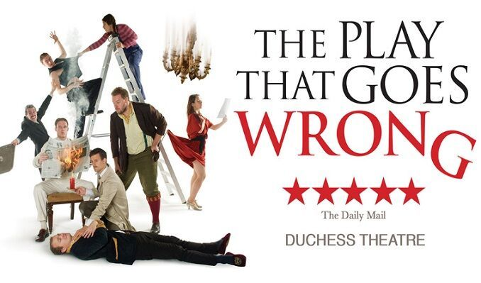 The Play That Goes Wrong tickets at The Duchess Theatre, London