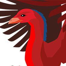 Stravinskijs eldfågeln med liveanimationer