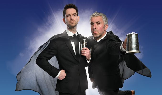 The Thinking Drinkers - Heroes of Hooch - CANCELLED tickets at Hertford Theatre in Hertford