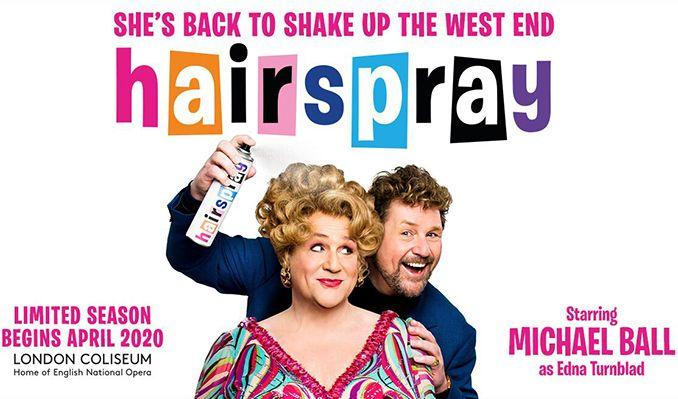 Hairspray tickets at London Coliseum, London