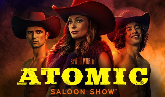 Atomic Saloon Show tickets at The Venetian Resort® | Grand Canal Shoppes | 3rd Floor, Las Vegas