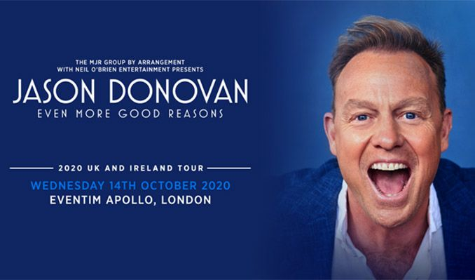Jason Donovan - RESCHEDULED  tickets at Eventim Apollo in London