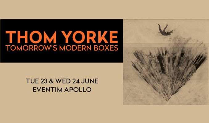 Thom Yorke - CANCELLED tickets at Eventim Apollo in London