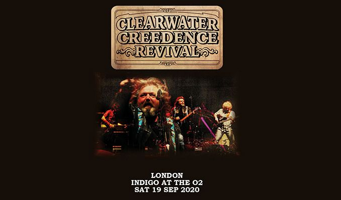 Clearwater Creedence Revival - RESCHEDULED tickets at indigo at The O2 in London