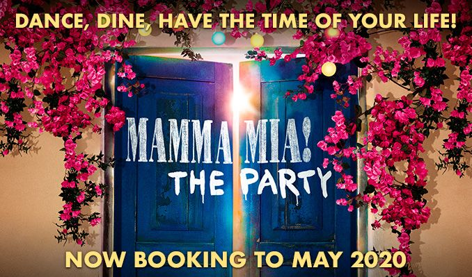 Mamma Mia! The Party - Booking from 1 Oct 2021 – 3 Apr 2022 tickets at The O2 in London