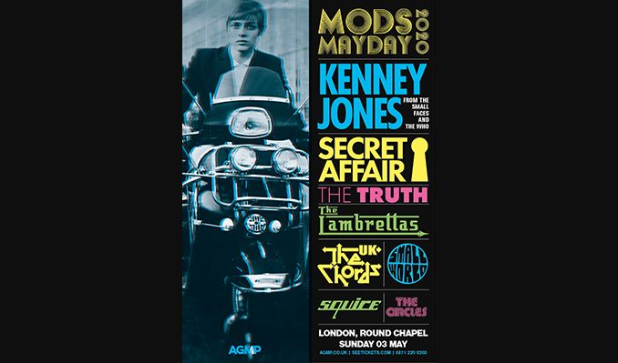 Mods Mayday - RESCHEDULED tickets at Round Chapel in London
