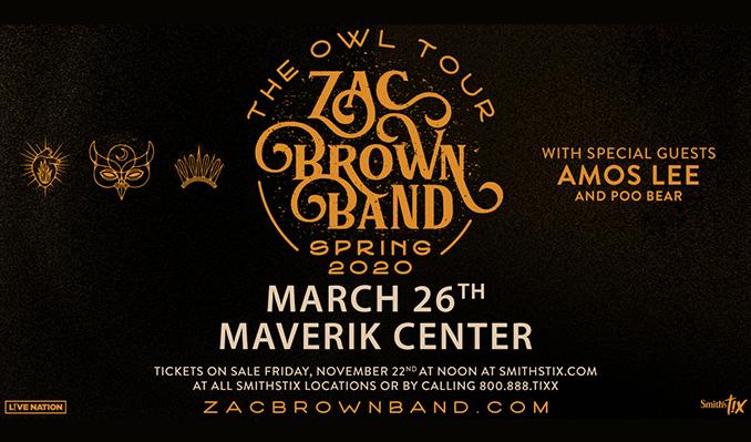 Zac Brown Band tickets at Maverik Center in Salt Lake City