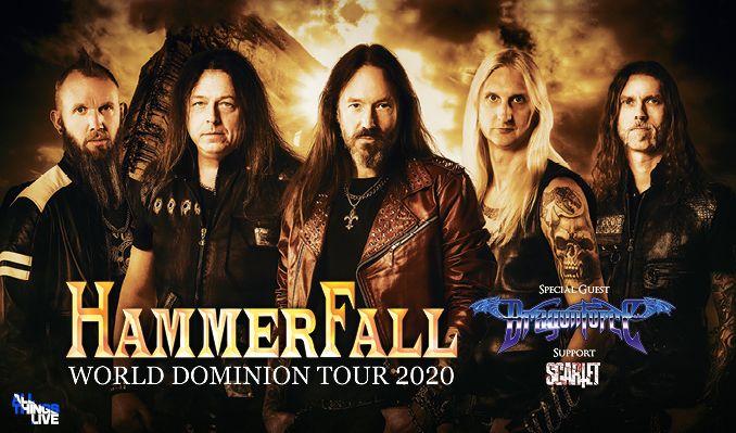 Hammerfall - INSTÄLLT tickets at Annexet in Stockholm