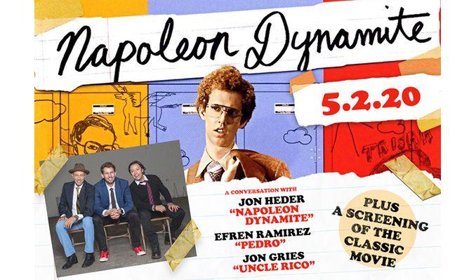 Napoleon Dynamite: A Conversation w/Jon Heder, Efren Ramirez and Jon Gries tickets at DeJoria Center in Kamas