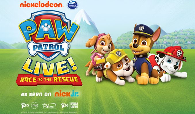 PAW Patrol Live! Race to the Rescue - RESCHEDULED tickets at The SSE Arena, Wembley in London