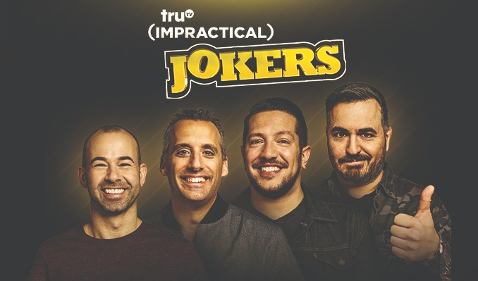 "truTV Impractical Jokers ""The Scoopski Potatoes Tour"" Starring The Tenderloins tickets at Infinite Energy Arena in Duluth"