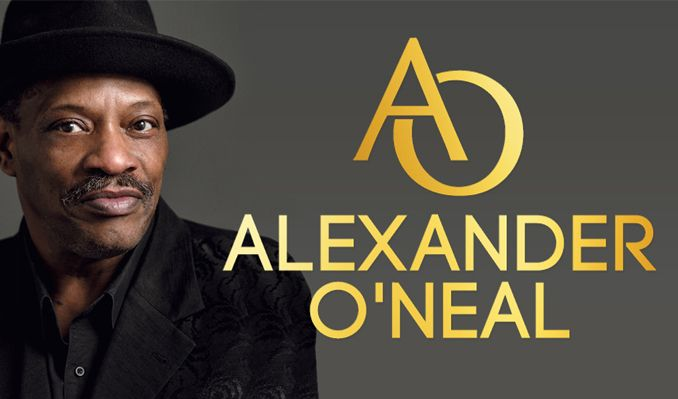 Alexander O'Neal tickets at Brentwood Live, Essex