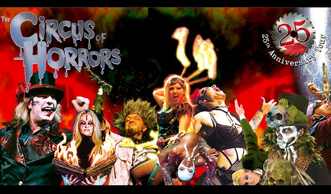 The Circus of Horrors - CANCELLED tickets at Brentwood Live in Essex