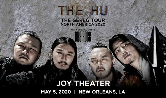 The Hu tickets at Joy Theater in New Orleans