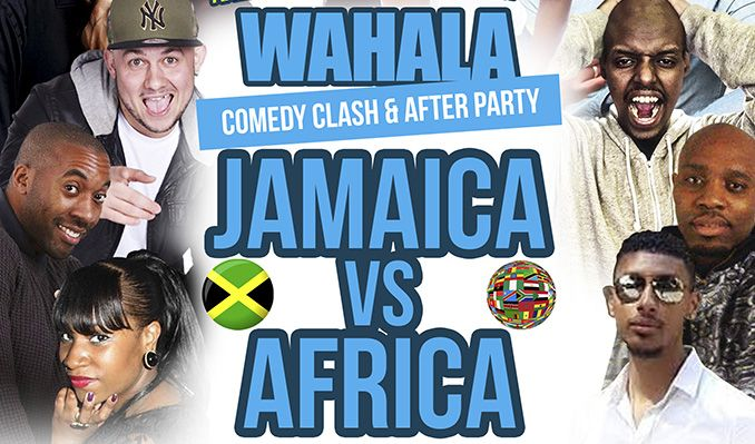 Wahala Comedy Clash: Jamaica vs Africa - RESCHEDULED tickets at indigo at The O2 in London