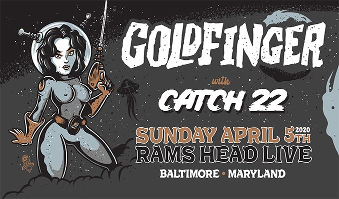 Goldfinger - CANCELLED tickets at Rams Head Live! in Baltimore