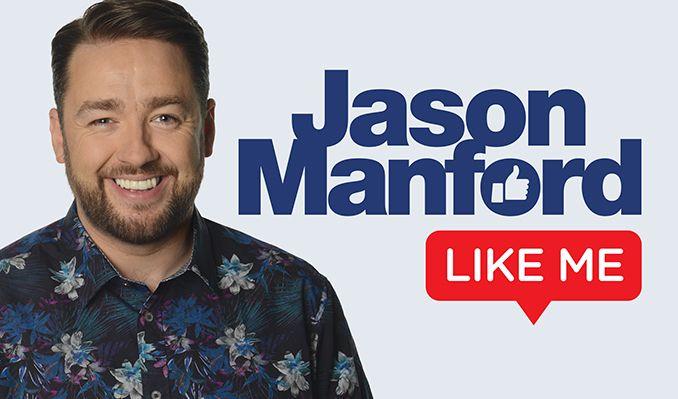 Jason Manford tickets at Brentwood Live, Essex