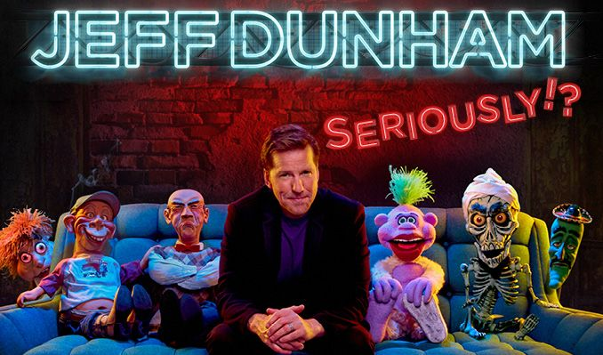 Jeff Dunham - NYTT DATUM tickets at HOVET/Stockholm Live in Stockholm