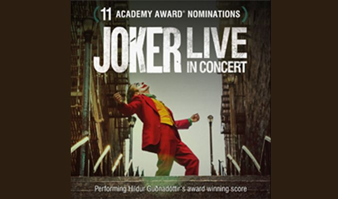 Joker In Concert - RESCHEDULED  tickets at Eventim Apollo in London