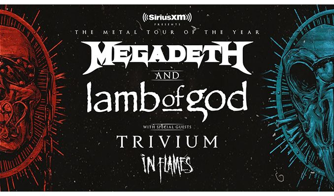 Megadeth and Lamb Of God tickets at Portneuf Health Trust Amphitheatre in Pocatello