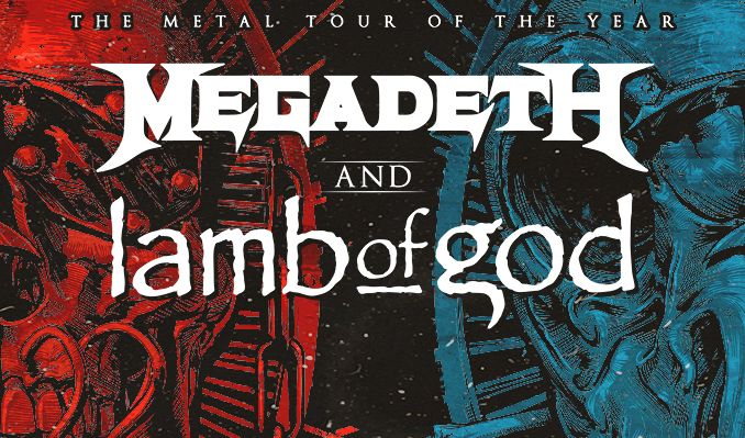 Megadeth /& Lamb Of God T-shirt Metal Tour 2020 with Trivium In Flames Shirt