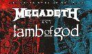 Megadeth and Lamb Of God  - 2021 tickets at Michelob ULTRA Arena at Mandalay Bay Resort & Casino in Las Vegas