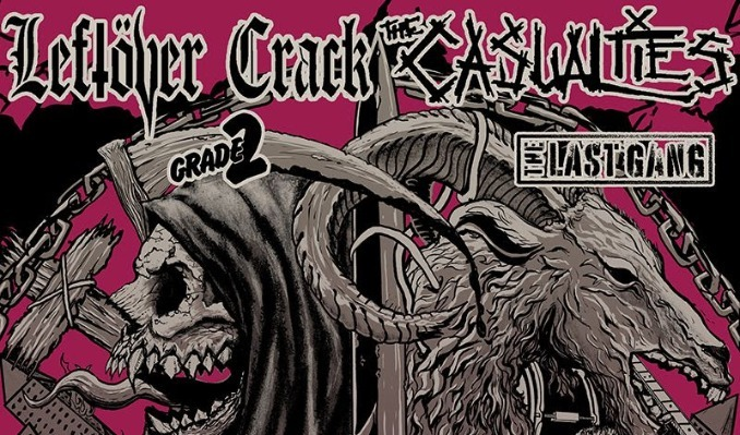 The Casualties + Leftover Crack tickets at Trees in Dallas