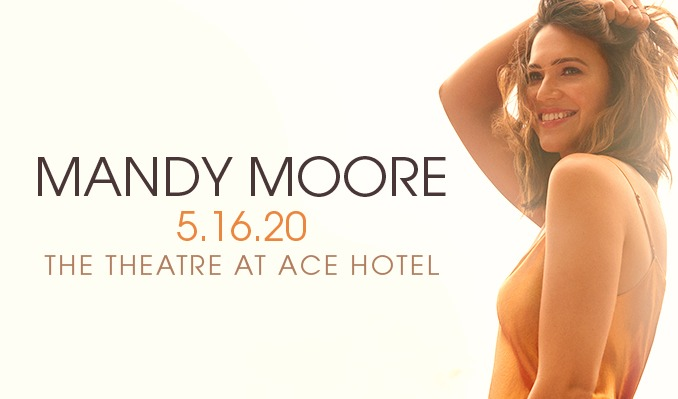 Mandy Moore  tickets at The Theatre at Ace Hotel in Los Angeles
