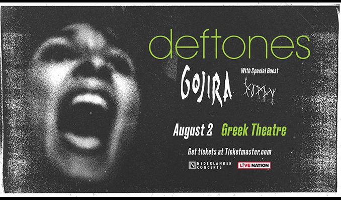 Deftones - The Greek Theatre tickets at The Greek Theatre in Los Angeles