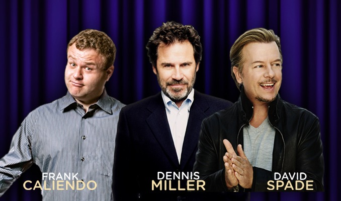 Triple Threat Comedy Night with Frank Caliendo, Dennis Miller & David Spade tickets at Bellco Theatre in Denver