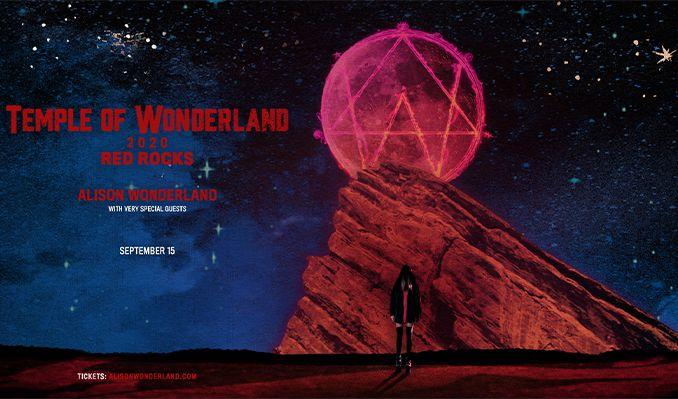 Alison Wonderland  tickets at Red Rocks Amphitheatre in Morrison