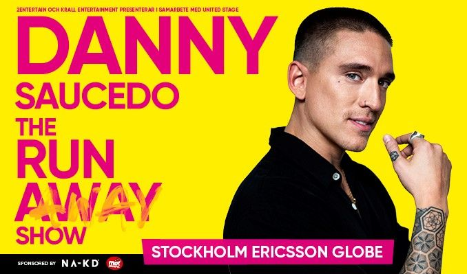 Danny Saucedo - FLYTTAT EVENT tickets at Avicii Arena in Stockholm