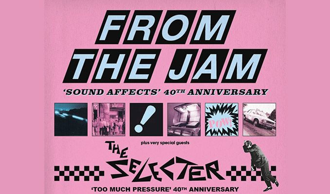 From The Jam & The Selecter tickets at Brighton Dome Concert Hall, Brighton