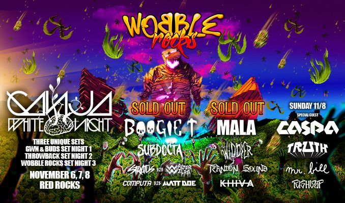 Ganja White Night 11/12 tickets at Red Rocks Amphitheatre in Morrison