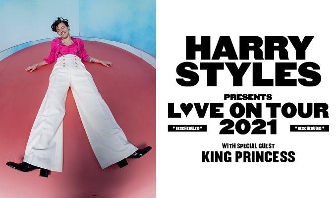 Harry Styles - FRAMFLYTTAT tickets at ERICSSON GLOBE/Stockholm Live in Stockholm