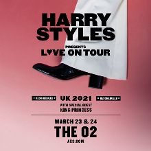 Harry Styles - POSTPONED tickets at The O2 in London