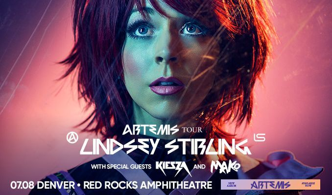 Lindsey Stirling  tickets at Red Rocks Amphitheatre in Morrison