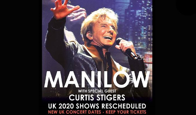 Manilow tickets at AO Arena, Manchester