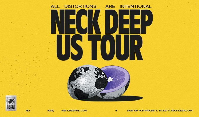 Neck Deep - All Distortions Are Intentional U.S. Tour tickets at Starland Ballroom in Sayreville