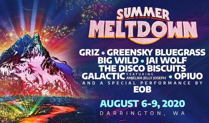 Summer Meltdown Festival 2021 tickets at Darrington Bluegrass Music Park in Darrington