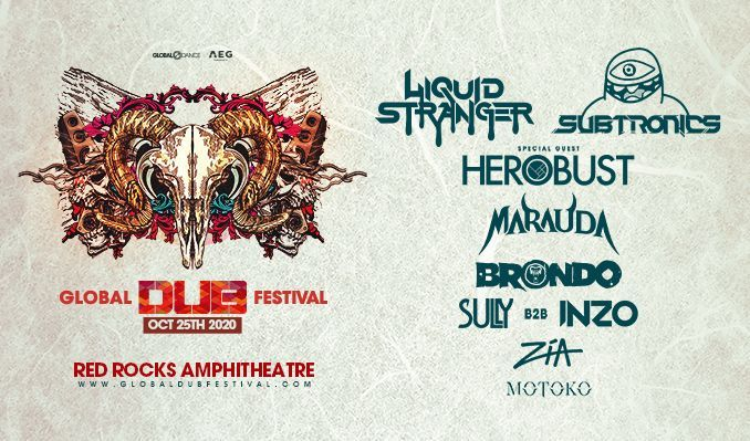 Global Dub Festival - CANCELLED tickets at Red Rocks Amphitheatre in Morrison