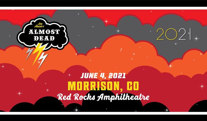 Joe Russo's Almost Dead - CANCELLED tickets at Red Rocks Amphitheatre in Morrison