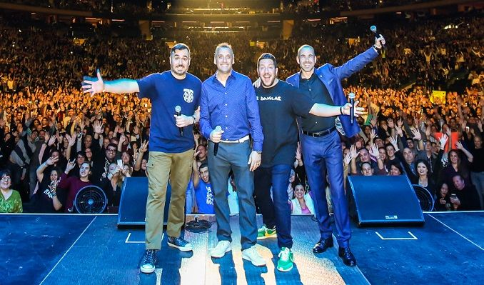 truTV Impractical Jokers 'The Scoopski Potatoes Tour' Starring The Tenderloins tickets at T-Mobile Center in Kansas City