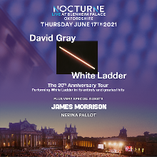 David Gray plus special guest James Morrison: Nocturne at Blenheim Palace - RESCHEDULED TO 2022 tickets at Blenheim Palace in Woodstock