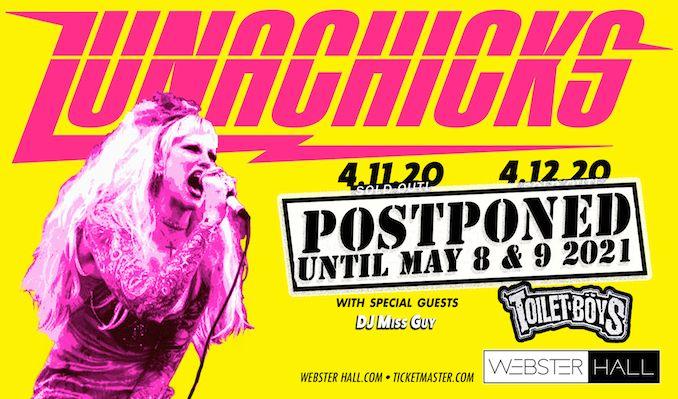 Lunachicks tickets at Webster Hall in New York