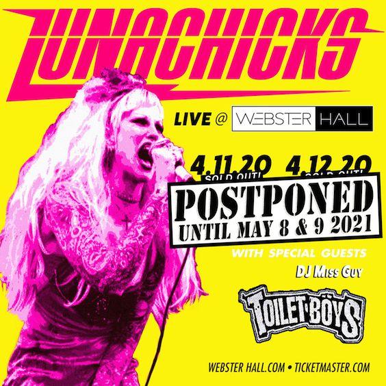 "<a href=""https://www.axs.com/artists/1108731/lunachicks-tickets"">2nd show added due to overwhelming demand!! </a>"