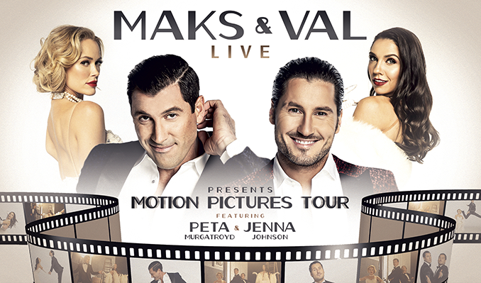 MAKS & VAL LIVE 2021 - Featuring Peta & Jenna tickets at Arvest Bank Theatre at The Midland in Kansas City